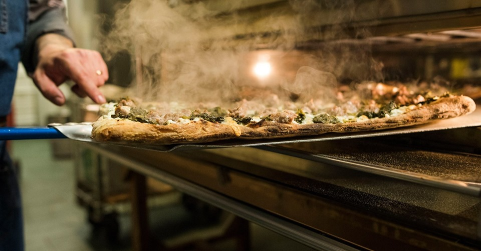 Pizza alla pala